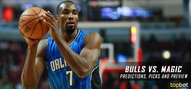 Chicago Bulls vs. Orlando Magic Predictions, Picks and NBA Preview – January 24, 2017