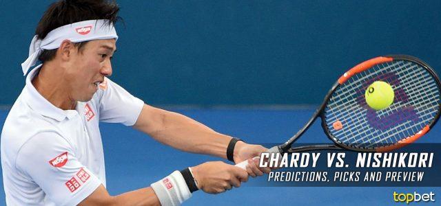 Jeremy Chardy vs. Kei Nishikori Predictions, Odds, Picks And Tennis Betting Preview – 2017 Australian Open Second Round