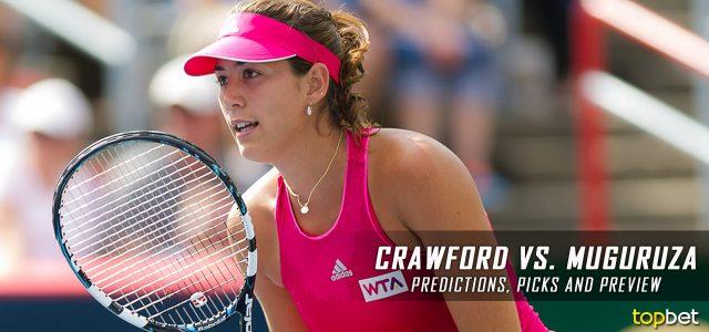Samantha Crawford vs. Garbine Muguruza Predictions, Odds, Picks And Tennis Betting Preview – 2017 Australian Open Second Round