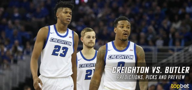 Creighton Bluejays vs. Butler Bulldogs Predictions, Picks, Odds and NCAA Basketball Betting Preview – January 31, 2017