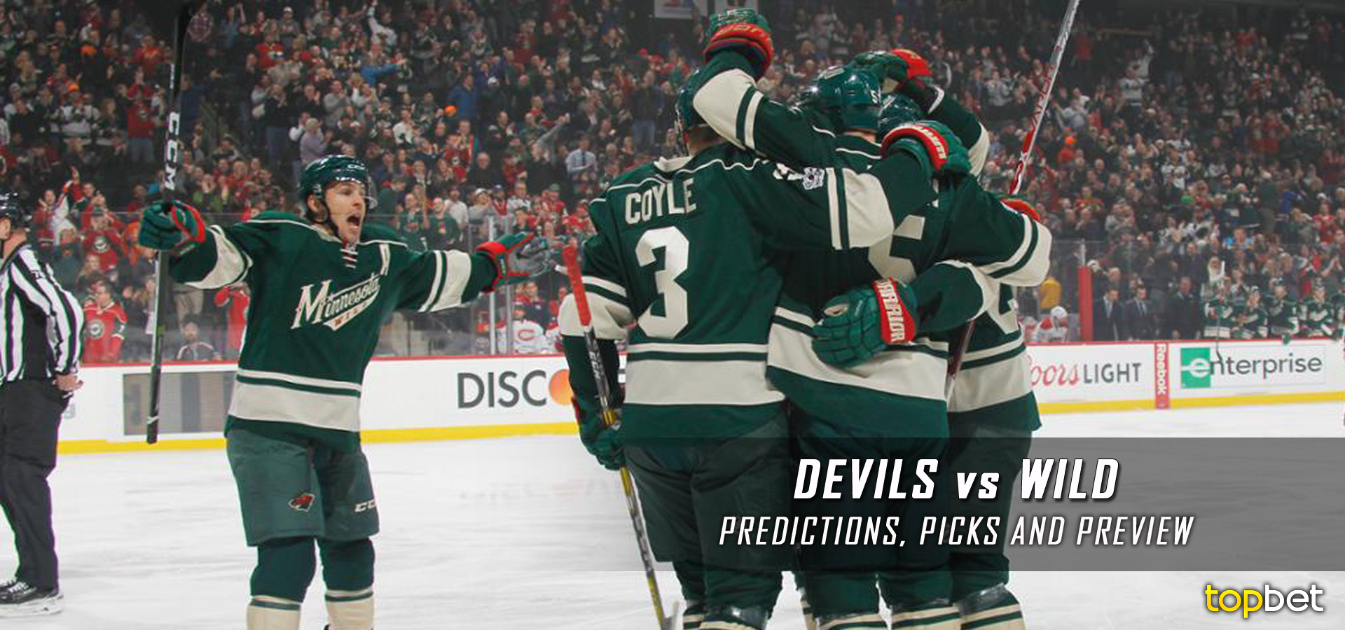 low priced 0acba 50a99 Devils vs Wild Predictions, Picks and Preview – January 2017