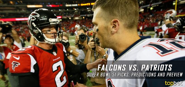 Atlanta Falcons vs New England Patriots: Super Bowl 51 Predictions, Odds, Picks and Betting Preview – February 5, 2017