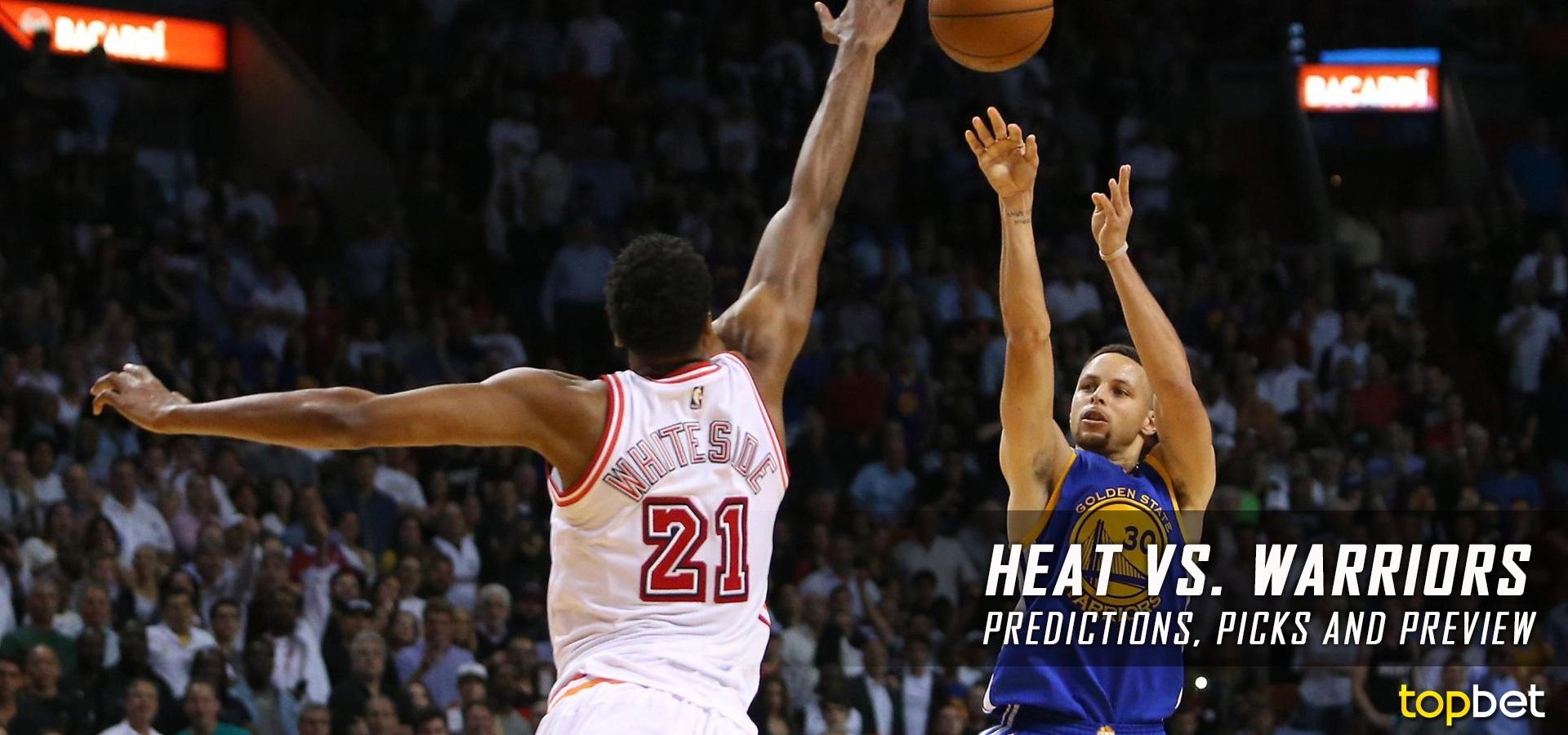 Heat vs Warriors Predictions, Picks & Preview – January 2017