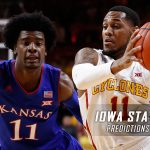 Iowa State Cyclones vs. Kansas Jayhawks Predictions, Picks, Odds and NCAA Basketball Betting Preview – February 4, 2017