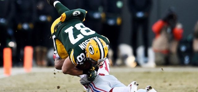 Jordy Nelson – Cracked Ribs Injury – Green Bay Packers Odds Update