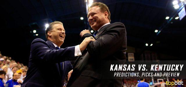 Uk Basketball: Kansas Vs Kentucky Basketball Predictions, Picks And Preview
