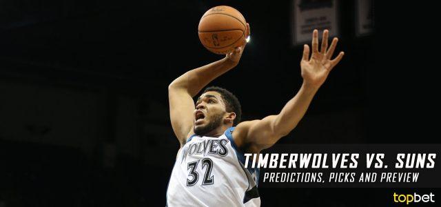 Minnesota Timberwolves vs. Phoenix Suns Predictions, Picks and NBA Preview – January 24, 2017