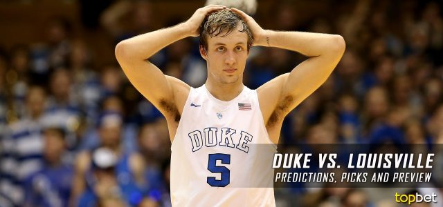 Duke Blue Devils vs. Louisville Cardinals Predictions, Picks, Odds and NCAA Basketball Betting Preview – January 14, 2017