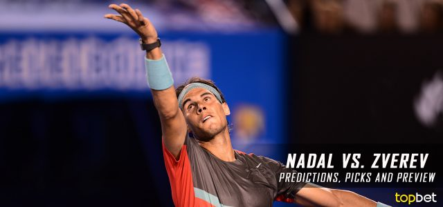 Rafael Nadal vs. Alexander Zverev Predictions, Odds, Picks And Tennis Betting Preview – 2017 Australian Open Third Round