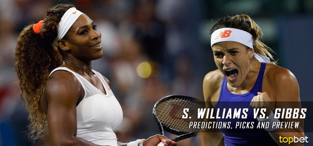 Serena Williams vs. Nicole Gibbs Predictions, Odds, Picks And Tennis Betting Preview – 2017 Australian Open Third Round