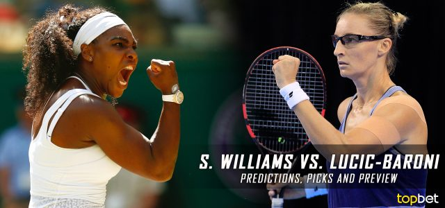 Serena Williams vs. Mirjana Lučić-Baroni Predictions, Odds, Picks, and Tennis Betting Preview – 2017 Australian Open Semifinals