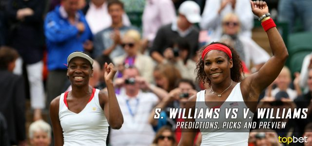 Serena Williams vs. Venus Williams Predictions, Odds, Picks, and Tennis Betting Preview – 2017 Australian Open Final