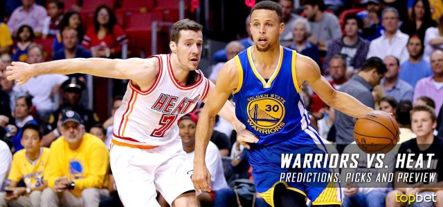 Golden State Warriors vs. Miami Heat Predictions, Picks and NBA Preview – January 23, 2017