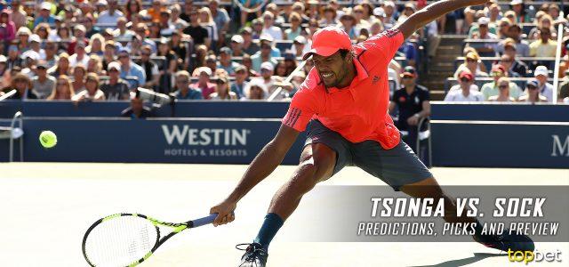 Jo-Wilfried Tsonga vs. Jack Sock Predictions, Odds, Picks And Tennis Betting Preview – 2017 Australian Open Third Round