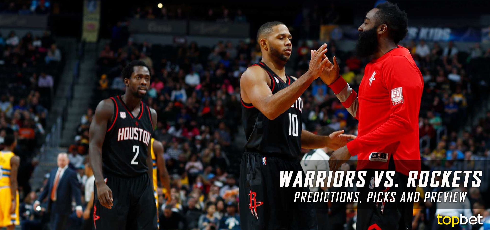 1a724560e9d Warriors vs Rockets Predictions and Preview – January 2017