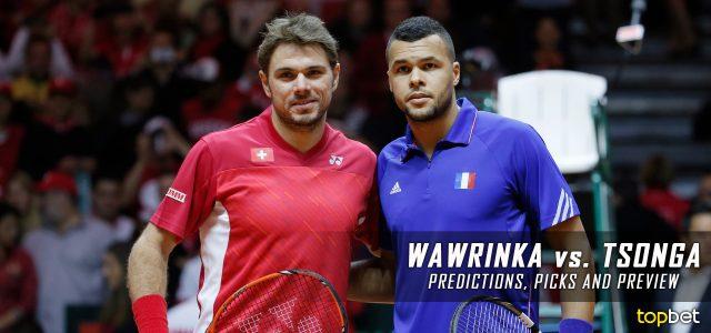 Stan Wawrinka vs. Jo-Wilfried Tsonga Predictions, Odds, Picks, and Tennis Betting Preview – 2017 Australian Open Quarterfinals