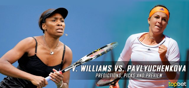 Venus Williams vs. Anastasia Pavlyuchenkova Predictions, Odds, Picks, and Tennis Betting Preview – 2017 Australian Open Quarterfinals