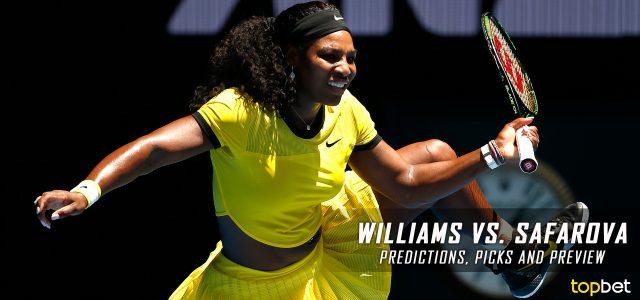 Serena Williams vs. Lucie Safarova Predictions, Odds, Picks and Tennis Betting Preview – 2017 Australian Open Second Round
