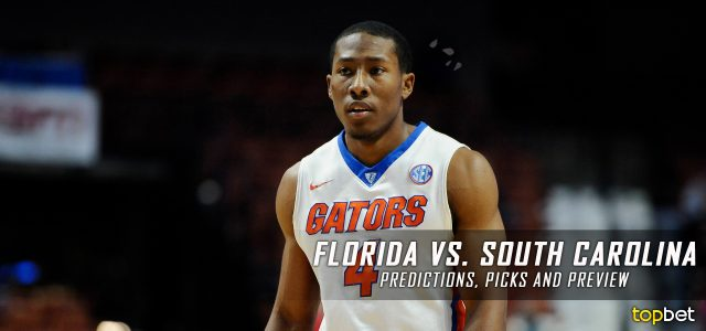Florida Gators vs. South Carolina Gamecocks Predictions, Picks, Odds and NCAA Basketball Betting Preview – January 18, 2017