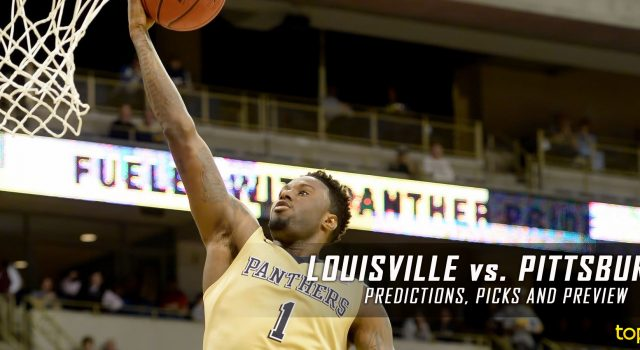 Louisville Cardinals vs. Pittsburgh Panthers Predictions, Picks, Odds and NCAA Basketball Betting Preview – January 24, 2017