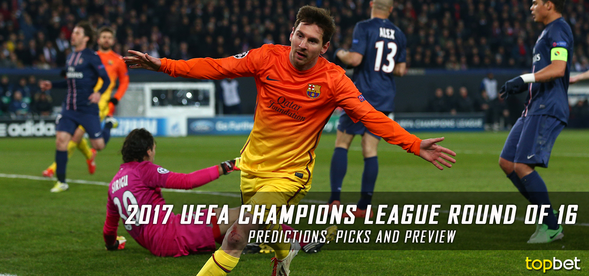 2016-17 UEFA Champions League Round of 16 Predictions & Picks