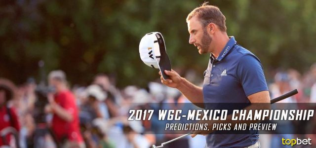 2017 WGC-Mexico Championship Predictions, Picks, Odds and PGA Betting Preview