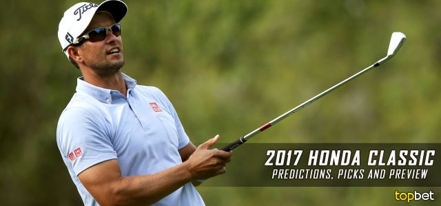 2017 The Honda Classic Predictions, Picks, Odds and PGA Betting Preview