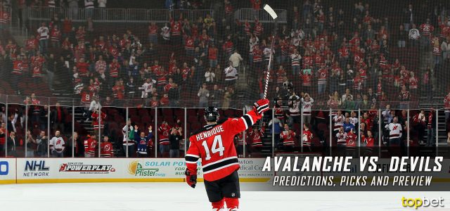 Colorado Avalanche vs. New Jersey Devils Predictions, Picks and NHL Preview – February 14, 2017