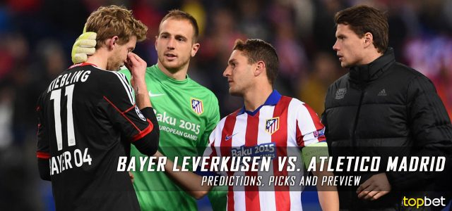 Bayer Leverkusen vs. Atletico Madrid Predictions, Picks, and Preview – UEFA Champions League Round of 16 First Leg – February 21, 2017