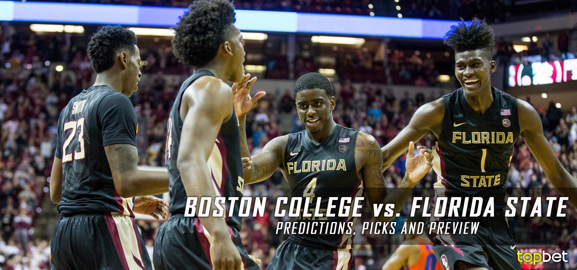 Boston College vs Florida State Basketball Predictions & Picks