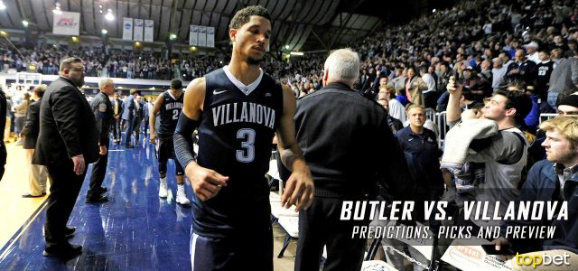 Butler Bulldogs vs. Villanova Wildcats Predictions, Picks, Odds and NCAA Basketball Betting Preview – February 22, 2017
