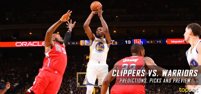 Los Angeles Clippers vs. Golden State Warriors Predictions, Picks and NBA Preview – February 23, 2017