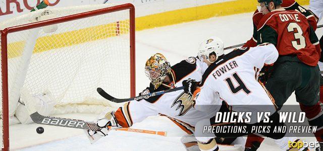Anaheim Ducks vs. Minnesota Wild Predictions, Picks and NHL Preview – February 14, 2017