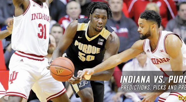Indiana Hoosiers vs. Purdue Boilermakers Predictions, Picks, Odds and NCAA Basketball Betting Preview – February 28, 2017