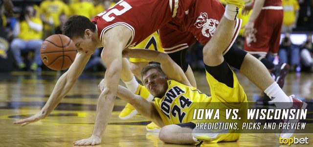 Iowa Hawkeyes vs. Wisconsin Badgers Predictions, Picks, Odds and NCAA Basketball Betting Preview – March 2, 2017