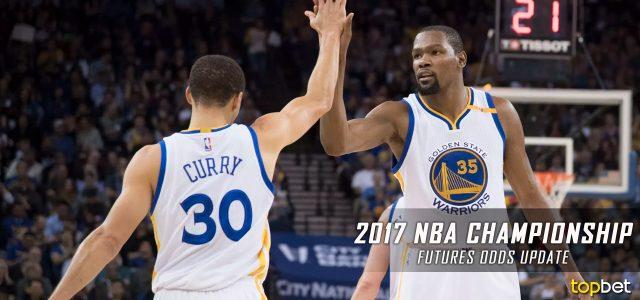2017 NBA Championship Odds Update