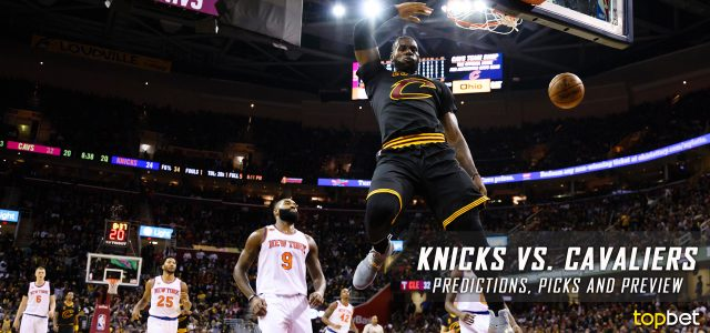 New York Knicks vs. Cleveland Cavaliers Predictions, Picks and NBA Preview – February 23, 2017