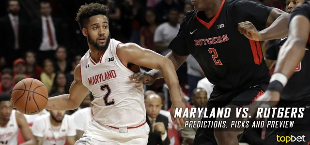 Maryland Terrapins vs. Rutgers Scarlet Knights Predictions, Picks, Odds and NCAA Basketball Betting Preview – February 28, 2017
