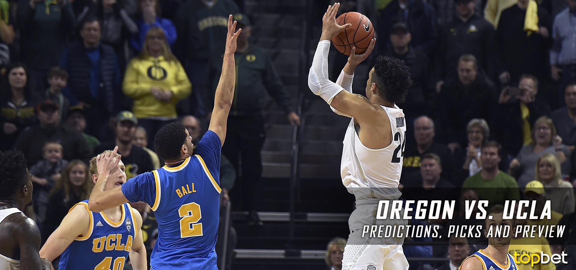 Oregon Vs Ucla Basketball Predictions Picks Odds Preview