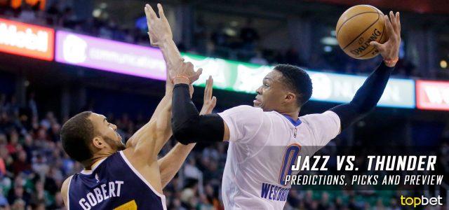 Utah Jazz vs. Oklahoma City Thunder Predictions, Picks and NBA Preview – February 28, 2017