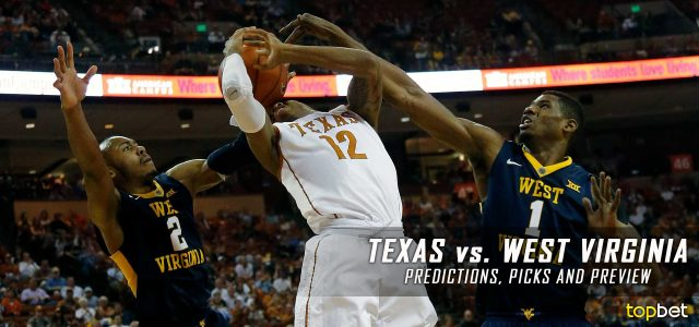 Texas Longhorns vs. West Virginia Mountaineers Predictions, Picks, Odds and NCAA Basketball Betting Preview – February 20, 2017