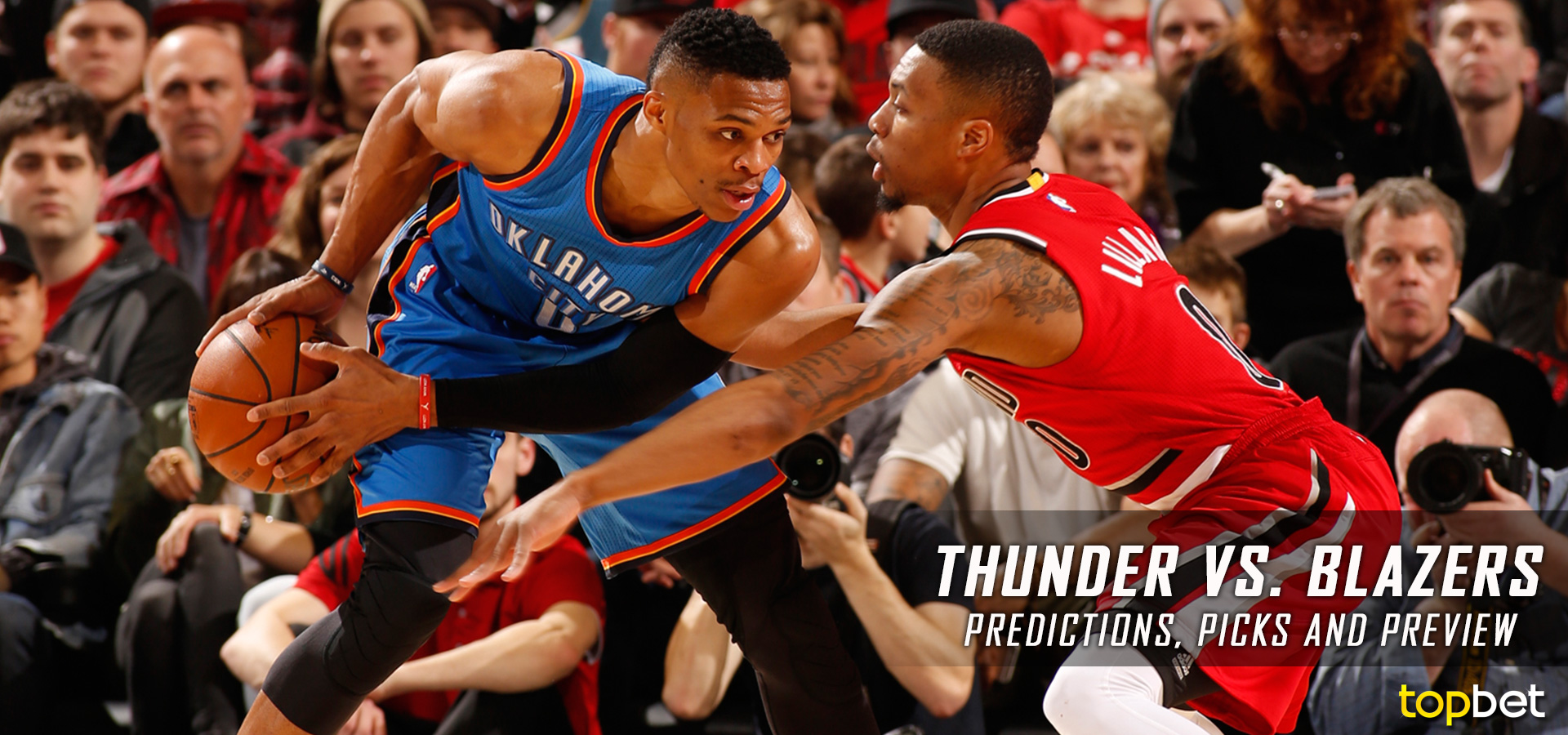 thunder vs trail blazers - photo #15