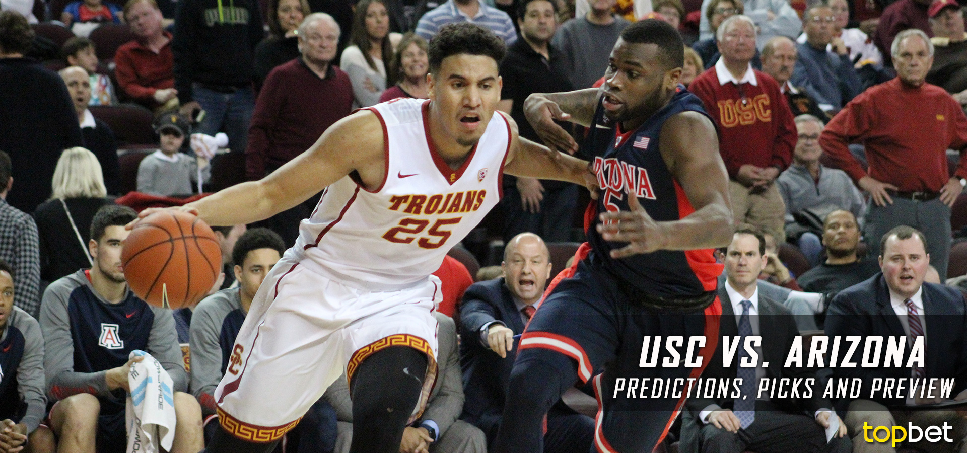 top ten bet arizona vs usc prediction