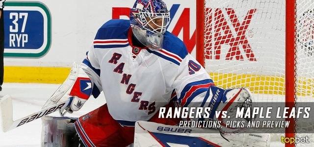 New York Rangers vs. Toronto Maple Leafs Predictions, Picks and NHL Preview – February 23, 2017