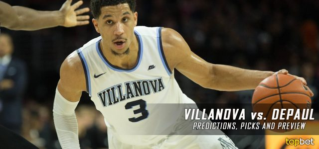 Villanova Wildcats vs. DePaul Blue Demons Predictions, Picks, Odds and NCAA Basketball Betting Preview – February 13, 2017
