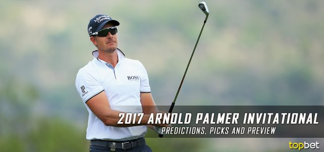 2017 Arnold Palmer Invitational Predictions, Picks, Odds and PGA Golf Betting Preview