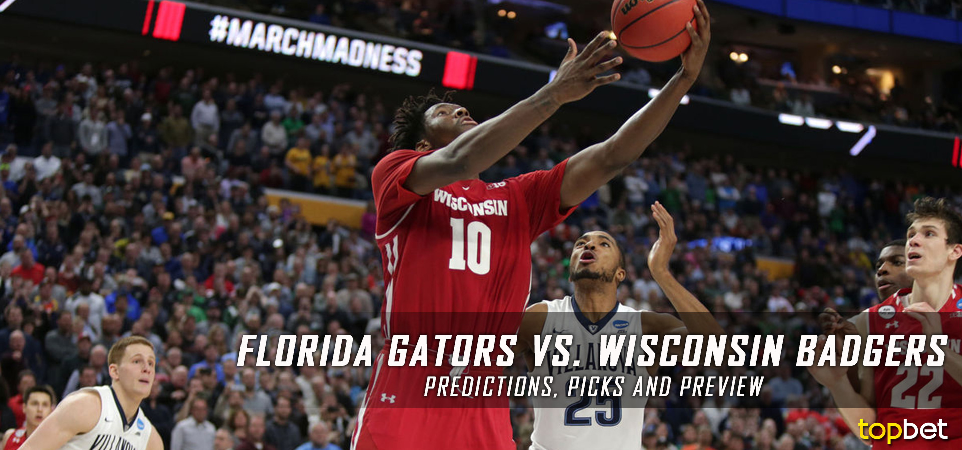 Florida vs Wisconsin March Madness 2017 Predictions / Picks