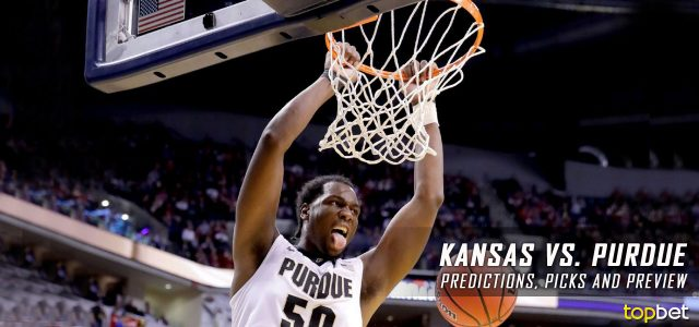 2017 March Madness Sweet 16 – Kansas Jayhawks vs. Purdue Boilermakers Predictions, Picks and NCAA Basketball Betting Preview