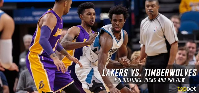 Los Angeles Lakers vs. Minnesota Timberwolves Predictions, Picks and NBA Preview – March 30, 2017