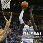 2017 Big East Tournament Semifinal Round – Seton Hall Pirates vs. Villanova Wildcats Predictions, Picks and NCAA Basketball Betting Preview